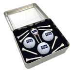 5309 Milano 3 Golfballs and Accessory Tin