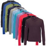 9718 Callaway Lambswool V Neck Sweater