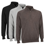 9860 Ashworth Performance Half Zip Wind Sweater