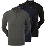 9906 Footjoy Merino 1/2 Zip Sweater